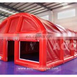 inflatable sealed tent for sallon
