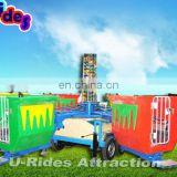 carousel ride for amusement park / rides with trailer mounted