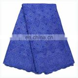most polular New season purple Fashion design lady dress lace fabric with water soluble BD150825116