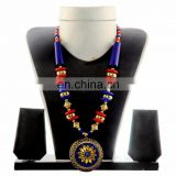 Vinatge Pearl Neckalce- Indian Fashion Jewelry-Belly Dance Jewelry