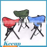 Promotional Cheap advertising folding finish triangle stools
