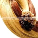Fashionable Indian Nail Tip/Flat Tip Hair Extension wholesale hair supplier