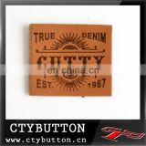 leather sticker