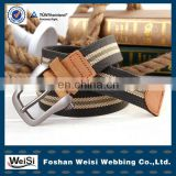 2015 Selling Pin Buckle Fashion Knitted Belt for men