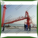 Marine loading unloading arm with ERC