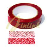 Tamper evident security tape with sequential number and perforation,Tamper Proof VOID Tape,Total Transfer Tape