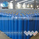 EN ISO 9809-1 50L 200bar Argon filled Gas Cylinder to CONGO with SGS/BV inspection report