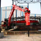 Stationary Type Hydraulic Rockbreaker Booms Systems