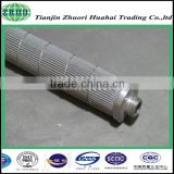 factory latest recommend high temperature resistant cartridge type 304 stainless steel wire meshed wrap melt filter