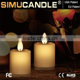 dancing flame led votive candle with moving wick with USA and EU patent for Home Decoration with USA and EU patent