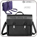 New design genuine pebble leather convertible backpack or crossbody messenger bag