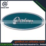 Top quality stainless steel material metal name plate sticker with 3m adhensive