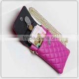 diamend quilted cell phone sling bag,cell phone carry bag,mobile phone carry bag