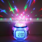 Music Starry Star Sky Digital Led Projection Projector Alarm Clock Calendar Thermometer horloge reloj despertador