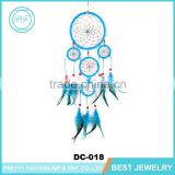 Alibaba India Custom Multilayer Feathers Wall Hanging Decoration Dream Catcher, Wood beads Handmade Lucky Indian Dream Catcher