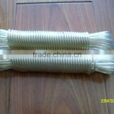 PVC plastic Clothesline rope WITH wire core/ pp multifilament/ twisted rope                                                                         Quality Choice