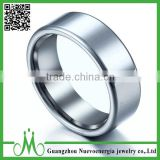 High quality hot sale jewellery men's tungsten wedding ring wholesale simple tungsten ring design