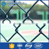 High strength green pvc coated chain link garden fencing                                                                         Quality Choice
