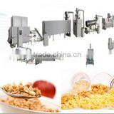 sugar coated corn flakes machine line/corn flakes making extruder 100-500kg/h manufacture