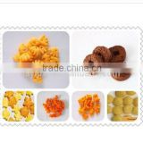 Cheese puffed snacks food extrusion machines