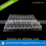 20 pack large PET clear Ampoule tray for 2ml, 3ml,5ml, 10ml / Vial plastic packing tray medical disposable