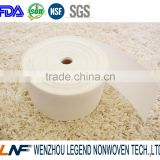 China supplier 100% polyester chemical bonding nonwoven buckram curtains