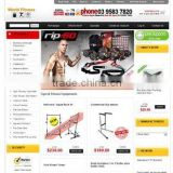 Price for Mobile Ecommerce Website Design to Buy/Sell/Rent Gym Equipment Online
