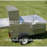 bike hot dog trailer CE approved bike hot dog trailer