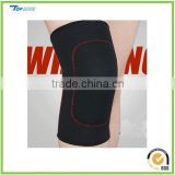 Padded neoprene exercise weight lifting knee support for bike riding