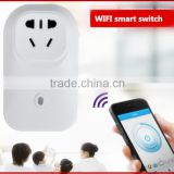 Wi-Fi Smart Switch Travel Plug Socket Home Automation for iPhone Android phones smart wifi power plug socket