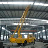 Dongfeng 22m boom lifts for sale, telescopic lifting arm, aerial lift truck
