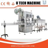 automatic labeling machine With Shrink Tunnel And Steam Generator