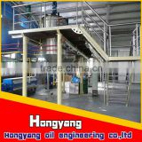 refined soya bean oil processing machine cost