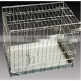 Folding Wire Dog Cage with double doors