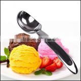 Creative kitchen ice cream spoon, zinc alloy skid spoon, multifunctional ice cream spoon