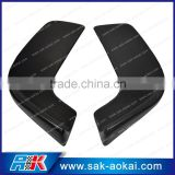 Carbon Fiber Car Front Lip Spoiler Bumper Flap Car Splitter 2pcs