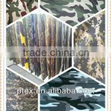polyester/cotton 65/35 21*16 100*56 rip-stop military uniforms camouflage fabric
