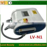 1-10Hz Professional High Effects 2014 Home Q-switch Laser Machine Q Switch Laser Tattoo Removal