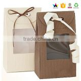 Kraft cereal box manufactur with window