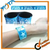 Custom Reflective Wrap Slap bracelets with Custom Printing on Promotional Slap Bracelet                                                                         Quality Choice