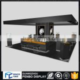 Factory direct sale glass MDF e-liquid watches rolling display case