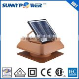 New Square 15inch With battery solar standing fan