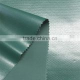 eco-friendly cold posted 0.58mm green 500D PVC tarpaulin/500D uv resistance pvc tarpaulin for tent bag/