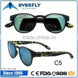 Spotted green and black variety colorful temple classical sunglasses with your logo                                                                         Quality Choice