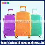 ABS+PC travel luggage with full zipper,connecting the case body luggage trolley bags