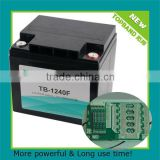 Wholesale price 12v40ah LiFePO4 Battery Packs with PCM for motorcycle/electric vehicle China supplier
