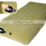 Inflatable air car mattress for rest,for long journey,customized used,vehicle air mattress