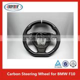 New BFB style F10 Carbon Fiber Wheel Covers Car Power Steering for BMW 5 Series