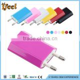 Mobile Phone EU Plug +US Plug Wall Charger For apple for iphone 4 4S 3GS 3G For Ipod Touch Home Charger