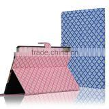 C&T Grid Pattern Standing Denim Fabrid Wallet Folio Case for iPad Pro 9.7 Inch                                                                         Quality Choice
